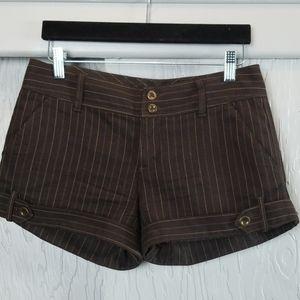 FREE PEOPLE striped mini shorts size 4